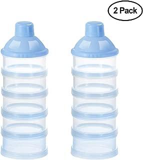 Accmor Baby Milk Powder Formula Dispenser, Non-Spill Smart Stackable Baby Feeding Travel..