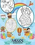 Juegos Educativos: Pasatiempos para niños 5-8 años, Encuentra las diferencias, Sopa de letras, Sudoku, Desafío laberintos, Unir los puntos.....