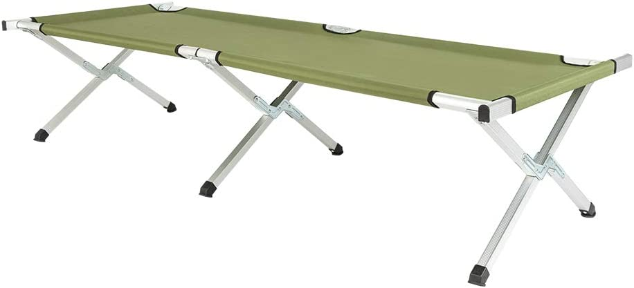 Great interest Rcsinway Portable Folding Ultra-Cheap Deals Camping Bed Ca Rack with Table