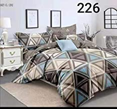 Magnetic Shadow Glace Cotton Queen Size Duvet Cover Quilt Cover Rajai Cover 90x100 inches (Abstract Grey)