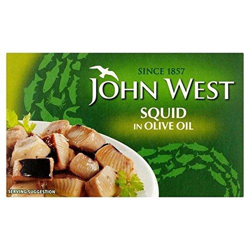 l'huile d'olive À L'Ouest Calmars John 111G - Paquet de 6