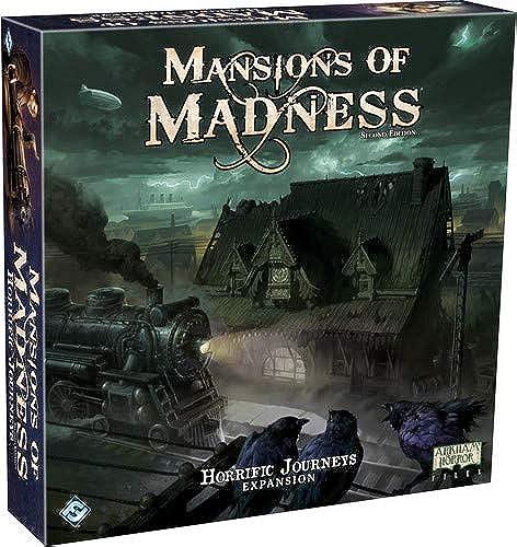 Fantasy Flight Games FFGMAD27 Mansions of Madness 2. Edition  Horrific Journeys Expansion