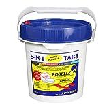 Robelle 1405M Chlorine Tabs Pool Sanitizer, 5-Pounds