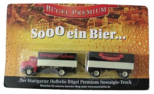 Stuttgarter Hofbräu Nr.30 - Sooo EIN Bier - MB L 322 - Hängerzug Oldie