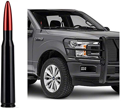 Universal Antenna Car Vehicle Replacement Antenna Compatible with Ford F150 F250 F350 Super Duty Raptor Dodge RAM 1500 2500 3500(Red)