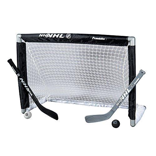 Franklin Sports Mini Hockey Goal Set - NHL - 28 x 20 Inches