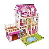 Star Ibaby Casa de Muñecas led con Familia y mobiliario Modelo Loft,...