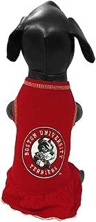 All Star Dogs NCAA Boston University Terriers Dog Cheerleader Dress
