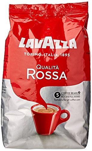 Lavazza Qualita Rossa Coffee Beans 1 kg (Pack of 6)