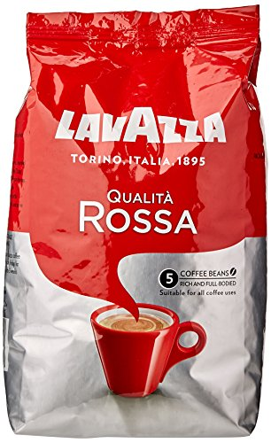 Lavazza Qualita Rossa Coffee Beans 1 kg (Pack of 6)