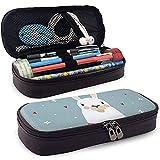 HFHY Netter Geburtstag oder Valentinstag Grußkarte Leder Bleistiftetui Bleistifthalter Pen Case Pouch Unisex