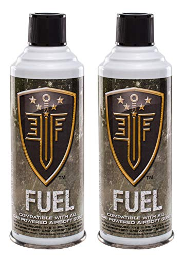 Elite Force Fuel Green Gas for Airsoft Guns Pack of 2