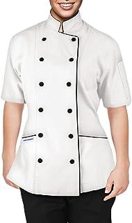 Chef Apparel Short Sleeves Women's Ladies Chef's Coat Jackets