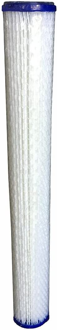 WFD 2 Pack, 5 Micron WF-PE205 2.5x20 5 Micron Pleated Sediment Water Filter Cartridge Fits in 20 Standard Size Housings of Filter Systems