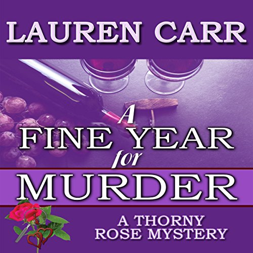 A Fine Year for Murder audiobook cover art