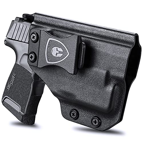 Sig P365 w/TLR-6 Holster, IWB Kydex Holsters Compatible with: Sig Sauer P365 / P365 SAS / P365XL TLR6 Pistol, Inside Waistband Concealed Carry for Men / Women, Adj. Cant & Retention, Right Hand