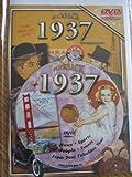 Flickback 1937 Flickback DVD Greeting Card - Commemorative Gift Year DVD1937 by Flickback DVD Video Greeting Card Series