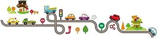 Artibetter Cartoon Car Vehicle Wall Sticker Vinyl Removable Art Wall Decals for Kids Room Nursery Kindergarten