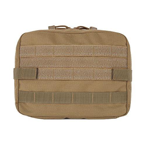 Tracffy Tactical MOLLE Utility Pouch 1000D Nylon EDC Multi-Purpose Universal Bag