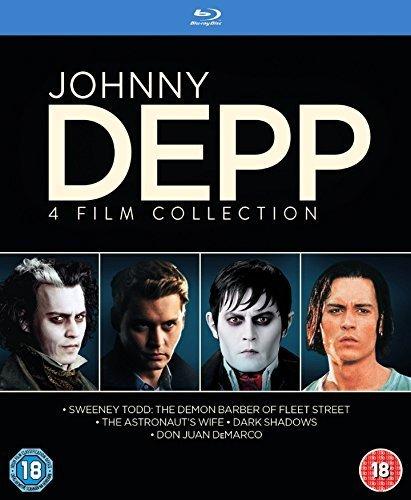 Johnny Depp Collection [4 Film] [Blu-ray] [2015] [Region Free]