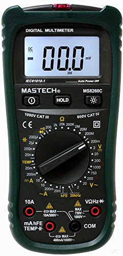 Learn More About Sinometer MS8260C Digital Multimeter with Non-contact AC Voltage Detector