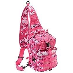 Extreme Pak Pink Digital Camo 11' Sling Backpack