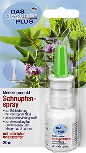 DAS gesunde PLUS Nasenspray Schnupfenspray, 20 ml Medizinprodukt