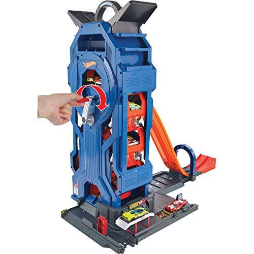 Hot Wheels Torre Garage Enorme Playset per Macchinine...