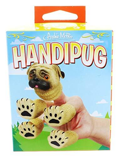 Archie McPhee Handipug Novelty Finger Puppet