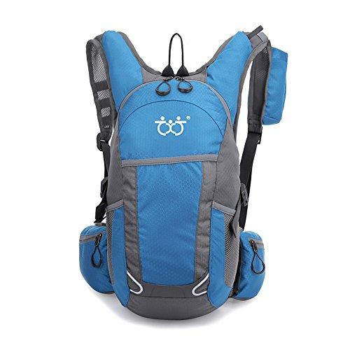 TXJ Sports 22 Liter Hiking Backpack Water Resistant Travel Backpack Lightweight Small Hiking Daypack for Men & Women (Light Blue ONE)