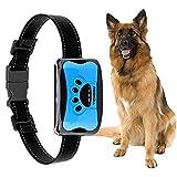 Antibell Halsband Hund Automatisches,YIZHIGOU Anti Bell Halsband,Wasserdicht Erziehungshalsband Hund Geeignet für große Hunde, mittlere Hunde, kleine Hunde (Blau)