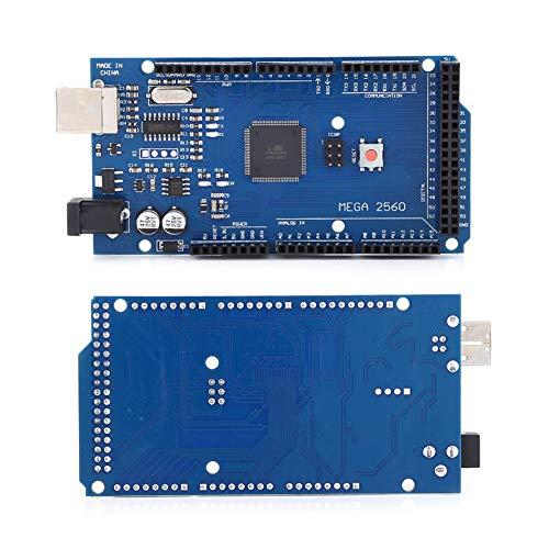 Tangxi Motherboard-kit voor 3D-printers, 1 * RAMPS 1.4-printplaat / 1 * Mega 2560 R3-printplaat / 5 * gesoldeerde A4988-driver / 5 * koellichaam / 1 * USB-kabel / 19 * steekbruggen