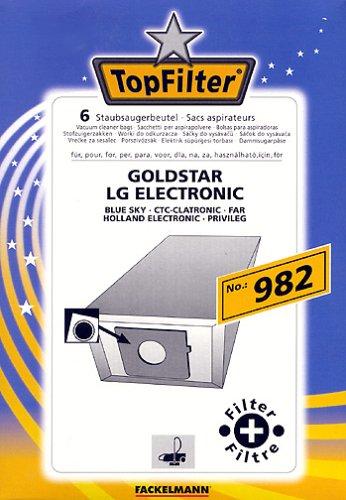 Fackelmann Top Filter 6 Staubsaugerbeutel Nr. 982