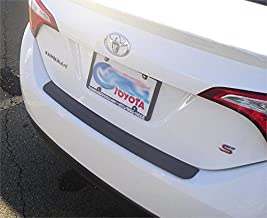 Rear Bumper Protector Fits 2014 2015 2016 2017 2018 2019 Toyota Corolla Sedan