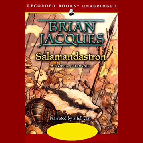 Salamandastron audiobook cover art