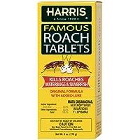 145-Count Harris Roach Boric Acid Roach Killer Tablets 6 Oz