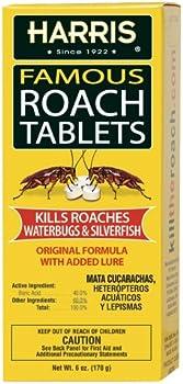 145-Count Harris Roach Boric Acid Roach Killer Tablets