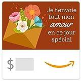 Carte cadeau eGift Amazon - Je t'envoi Tout Mon Amour
