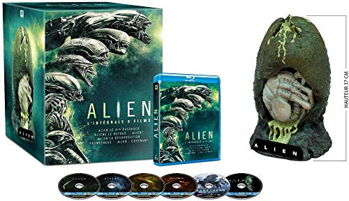 Alien Anthologie - Coffret 6 BluRay + Figurine - Edition Collector [Blu-ray]