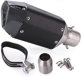 Silenziatore di scarico universale moto LanCo 2X Silenziatore DB Killer marmitta di scarico 35mm