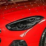 LYAKK Película Protectora para Faros Delanteros de Coche, luz Trasera, Tinte Negro Ahumado, Vinilo Transparente de TPU, Apto para BMW Z4 G29 2019 2020 2021