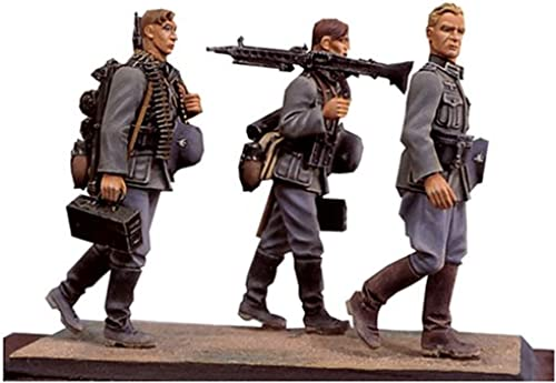Andrea Miniatures - S5-S2 German Infantry Walking Set II