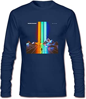 Lookingblue 2018 Imagine Dragons Cool Man Men's Long-Sleeve Cotton T-Shirt