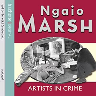 Artists in Crime audiobook cover art