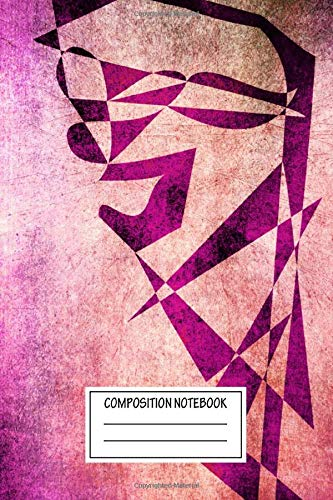 Composition Notebook: Geeky Thief Of Hearts New Grunge Art Modern Vector Design Shapes And Colors Wide Ruled Note Book, Diary, Planner, Journal for Writing