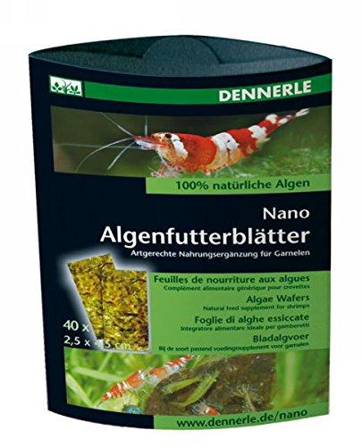 Dennerle Nano Algenfutterblätter - Nahrungsergänzung für Garnelen