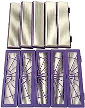 D5 vhbw Filtre allergie de rechange Hepa Set violet pour Neato Botvac D3