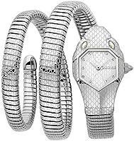 Just Cavalli Signature Snake Serpente Doppio Stainless Steel Watch JC1L168M0015 - Quartz Analog for Women in Stainless...