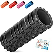 Starwood Sports Foam Roller for Deep Tissue Muscle Massage - Trigger Point Therapy - Myofascial Release - Muscle Roller for Fitness, CrossFit, Yoga & Pilates…
