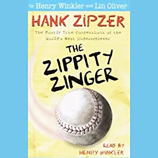 The Zippity Zinger audiobook cover art